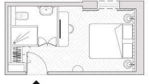 plan chambre hôtel design proche chatelet plan chambre classique hôtel