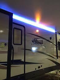 travel trailer led lights amazon com recpro rv cer motorhome travel trailer 16 white led