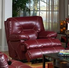 Red Recliner Sofa Cortez Dual Reclining Sofa In Dark Red Leather By Catnapper 4291 R