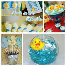 Duck themed baby shower ideas