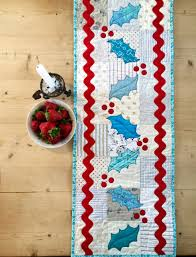 free quilted table runner patterns ballkleiderat decoration