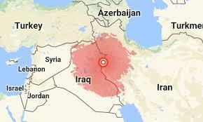 map iran iraq iran iraq border rocked by 7 3 magnitude earthquake