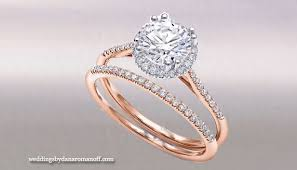 White Gold Wedding Rings by White And Rose Gold Engagement Ring When The Perfect Match Is