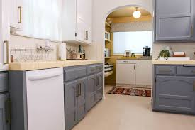 two tone kitchen cabinets white and grey trendy two toned kitchen cabinet refresh the