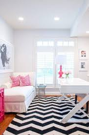 Pink And Black Rugs Pink Chevron Rug Design Ideas