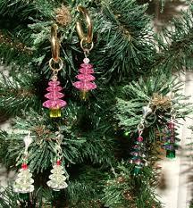 ekduncan my fanciful muse beaded christmas pendants and earrings