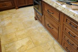 Kitchen Floor Laminate Tile Floors Laminate Flooring For Kitchens Tile Effect U Shaped