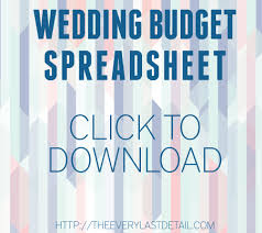 wedding budget planner wedding budget every last detail