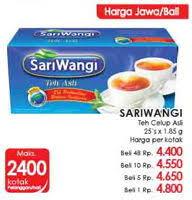 Teh Sariwangi 1 Karton promo harga sariwangi teh terbaru minggu ini hemat id