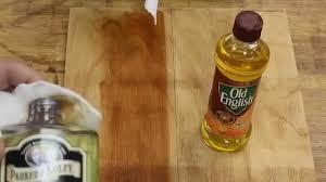 lemon oil parker u0026 bailey vs lemon oil old english part 2 youtube