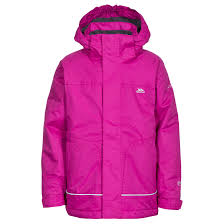 trespass cornell kids waterproof winter jacket windproof hooded
