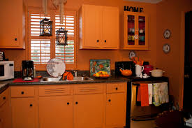 Kitchen Cabinet Orange County Burnt Orange Kitchen Burnt Orange Decor Inside Burnt Orange