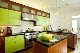 green kitchen backsplash green kitchen cabinets kitchen eclectic with beige tile backsplash