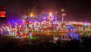 holiday light show near me the best christmas lights in and around philadelphia philadelphia