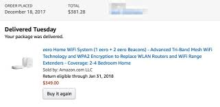 eero amazon eero appears to have solved most of my home s wifi problems by