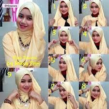 tutorial hijab paris ke pesta 37 tutorial hijab pesta syar i untuk pernikahan simple dan terbaru