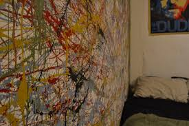 Magazine Wall Art Diy by Jackson Pollock Splatter Paint Diy U2013 Moda Magazine