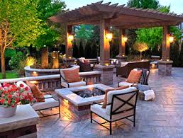 Patios And Pergolas by Landscape Services From Artistic Landscapes Experts In Lawn