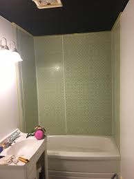 Can A Bathtub Be Painted by My Bathroom Makeover Part 3 Epoxy Enamel Shower Surround
