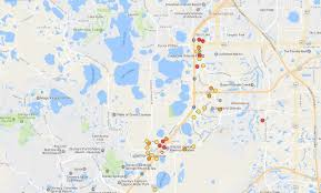 Orange Lake Resort Orlando Map by Car Burglaries Spike In Orlando Area Tourist Corridor Orlando