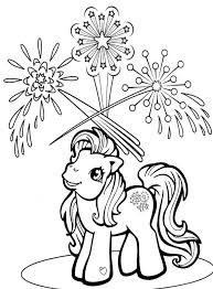mlp frozen coloring pages my pony see fireworks coloring page printables