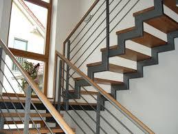stahl holz treppe metallbau trenz