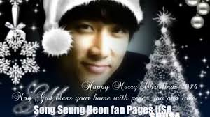 song seung heon 송승헌 merry 2014 by