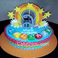 special cake design rainbow design cake min 1 5 kg cake for