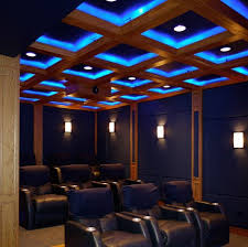 Home Theater Ceiling Lighting The Bad Of Lit Up Home Theater Ceilings Ceilings
