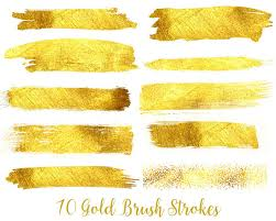 where to buy gold foil buy 3 for 9 usd gold foil brush strokes clipart gold