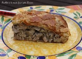 cuisine lorraine recette feuilleté à la viande façon pâté lorrain la cuisine des p tites