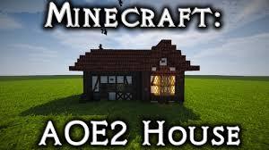 minecraft aoe2 eastern european house 1 tutorial youtube