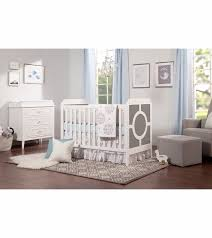 Da Vinci 3 In 1 Convertible Crib Davinci Poppy Regency 3 In 1 Convertible Crib In Grey And White