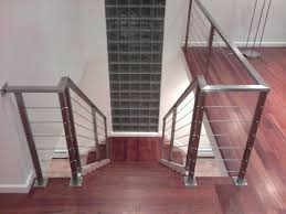 Cable Banister Hand Crafted Stainless Steel Cable Railing By Laidman Fabrication