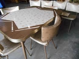mid century kitchen table 1950 s retro mid century kitchen table 8 chairs 2 leaves atomic