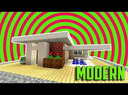 Small House Minecraft Minecraft How To Build A Small Modern House Tutorial Easy Cute