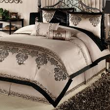 Cream And Black Comforter Bedroom Comforters Clearance Comforters Bedding Sets Touch Of