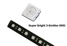 Light Bar For Motorcycle Ijdmtoy 1 Brilliant Red Universal 12 Smd Led Aluminum Bar For