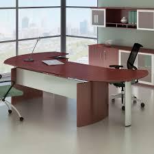 Modern Desk Sets Office Lovable Curved Espresso Modern Desk Executive Floating