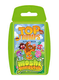 top trumps moshi monsters amazon co uk toys u0026 games