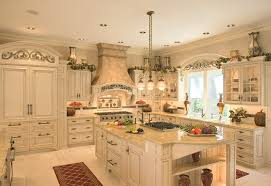 Mediterranean Kitchen Cabinets - broken white mediterranean kitchen u2014 smith design creating