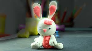 Easter Home Decor by Cute Easter Play Doh Bunny Easy Home Decor Easter Idea Youtube