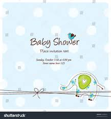 Invitation Cards Baby Shower Baby Arrival Card Baby Shower Invitation Stock Vector 74706070