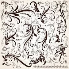 flourishes swirls free free vector 365psd
