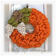 halloween burlap wreath pumpkin fall wreath autumn wreath halloween burlap wreath