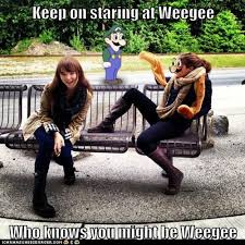 Know Your Meme Weegee - keep on staring at weegee who knows you might be weegee weegee