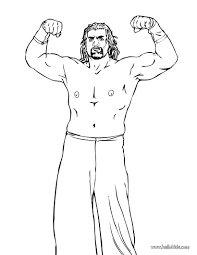 undertaker coloring pages the great khali coloring pages hellokids com