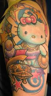 hello kitty tattoo award vote for the best hello kitty tattoo
