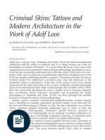 ornament and crime adolf loos pdf