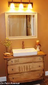 Repurposed Furniture For Bathroom Vanity Dresser Turned To Bathroom Vanity Hometalk